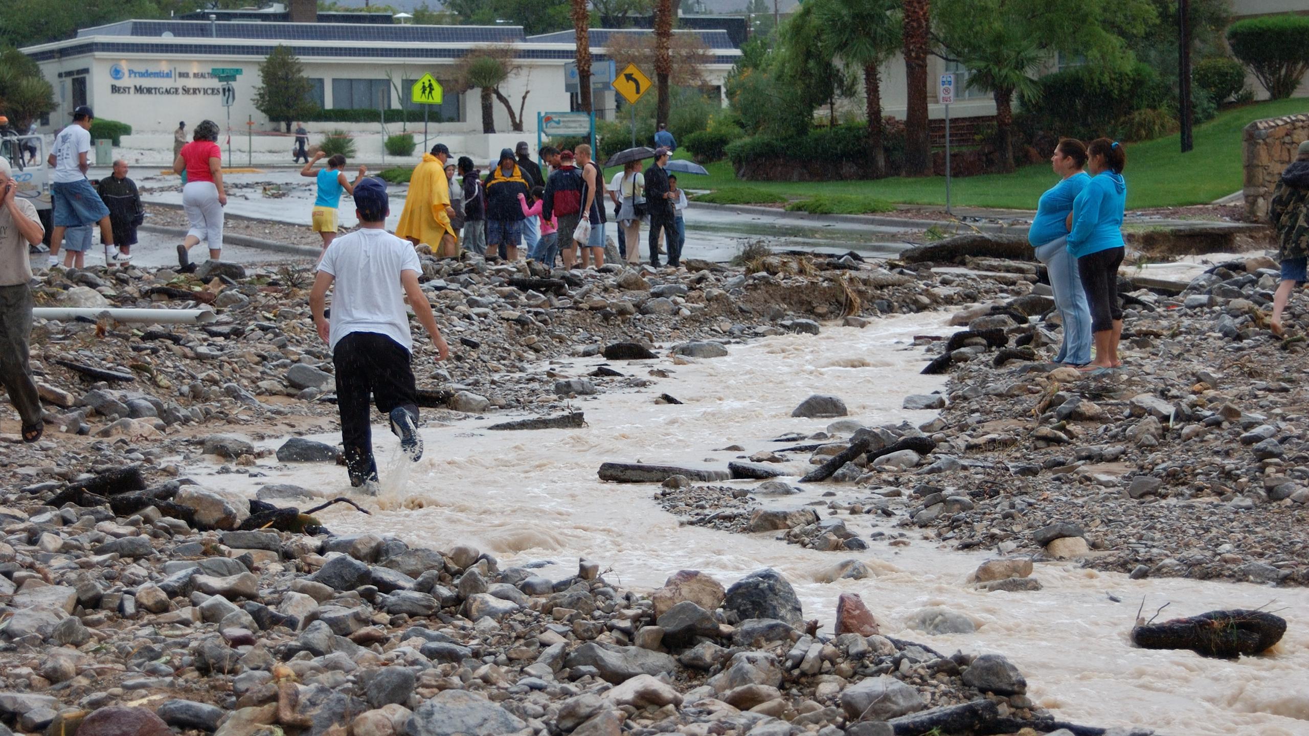 El Paso, Texas flood